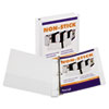 Samsill Nonstick Round Ring View Binder, 11 x 8-1/2, 1