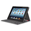 Logitech Solar Keyboard Folio, For iPad 2/3, Black