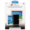 3M Privacy Filter For Apple iPad 2, For Landscape Mode