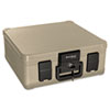 SureSeal By FireKing Fire and Waterproof Chest, 0.27 ft3, 15-9/10w x 12-2/5d x 6-1/2h, Taupe