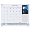 Visual Organizer Recycled Scenic Desk Pad, 22