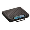 Brecknell Portable Electronic Utility Bench Scale, 250lb Capacity, 12 x 10 Platform
