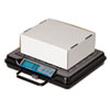 Brecknell Portable Electronic Utility Bench Scale, 100lb Capacity, 12 x 10 Platform