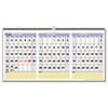 QuickNotes Three-Month Horizontal Wall Calendar, 23 1/2&quot; x 12&quot;, 2012-2014