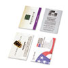 Day-Timer Business Card Holders for Looseleaf Planners, 5 1/2 x 8 1/2, 5/Pack