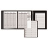 AT-A-GLANCE Weekly Appointment Book Plus, 6-7/8 x 8-3/4, Black, 2013-2014