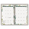 Recycled Botanique Weekly/Monthly Planner, Design, 5 1/2&quot; x 8 1/2&quot;, 2013