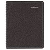 DayMinder Recycled Weekly Planner,Black, 6 7/8