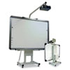 Interactive Board Mobile Stand wProjector Arm, Tan, 44-59w x 12-55 x 85 1/2-103