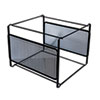 Universal One Mesh File Frame Holder, Letter, Black