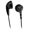 Maxell EB-95 Stereo Earbuds, Black