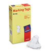 Avery White Marking Tags, Paper, 1 3/32 x 3/4, White, 1,000/Box