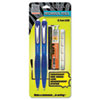 Z-Tap Mechanical Pencil, Blue, 0.5 mm, 12/Pk