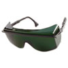 Astro OTG 3001 Safety Glasses, Black Frame, Shade 5.0 Lens