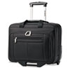 Wheeled Business Case, 16-1/2 x 8 x 13-1/4, Black