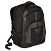 "Conquer 16"" Backpack, 11-8/10 x 7-1/2 x 18-3/4, Black"