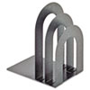 SteelMaster Soho Bookend with Curved Corners, 10 x 7 x 5, Granite