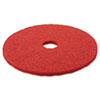 "Buffer Floor Pad 5100, 20"", Red, 5 Pads/Carton"
