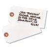 Avery Shipping Tags, Tyvek, 4 3/4 x 2 3/8, White, 1,000/Box