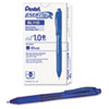 EnerGel X Retractable Roller Gel Pen, Blue Ink, Bold