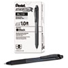 EnerGel X Retractable Roller Gel Pen, Black Ink, Bold