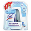 LYSOL Brand No-Touch Kitchen System, 8.5 oz, Plastic, Berry