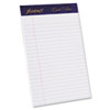 Ampad Gold Fibre Ruled Pads, Jr. Legal Rule, 5 x 8, White, 4 50-Sheet Pads/Pack