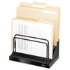 Step File, Six 1&quot; Sections, 11 1/0 x 7 1/10 x 10 1/2, Black Pearl