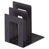 SteelMaster Soho Bookend with Squared Corners, 8 1/10 x 7 x 5, Granite