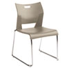 Duet Series Stacking Chair, Polypropylend, Beige, 4 Chairs/Carton