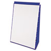 Tabletop Flip Chart Easel, Unruled, 20 x 28, White, 20 Sheets/Pad