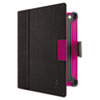 Belkin E9T009C01 Cinema Dot Folio Case with Stand, for iPad 2/3, Black/Purple BLKE9T009C01 BLK E9T009C01