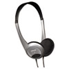 HP-200 Stereo Headphones, Silver