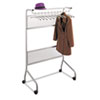 Impromptu Garment Rack, Steel, Gray