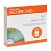 Memorex DVD-R, Secure, 4.6GB, Slim Jewel, Silver, 5/Pack