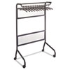 Impromptu Garment Rack, Steel, Black