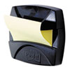 Super Sticky Pop-up Note Dispenser for 2 x 2 Self-Stick Notes, Black Base