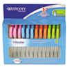 Westcott Kids Soft Handle Scissors with Antimicrobial Protection, 12/Pack, 5