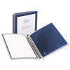 "Flexi-View Binder with Round Rings, 1/2"" Capacity,Navy Blue"
