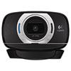 Logitech C615 HD Webcam, 1080p, Black/Silver