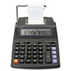 16015 Two-Color Roller Printing Calculator, 12-Digit LCD, Black/Red