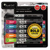 EnduraGlide Dry Erase Markers, Chisel Tip, Assorted Colors, 12/Set