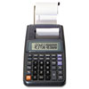 16010 One-Color Printing Calculator, 12-Digit LCD, Black