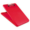 "SlimMate Storage Clipboard, 1/2"" Capacity, Holds 8 1/2w x 12h, Red"
