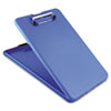 "SlimMate Storage Clipboard, 1/2"" Capacity, Holds 8 1/2w x 12h, Blue"