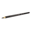 Design EBONY Sketching Pencil, Black Matte Barrel, Dozen