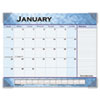 AT-A-GLANCE Slate Blue Desk Pad, 22 x 17, Slate Blue , 2016