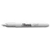 Sharpie Metallic Permanent Marker, Fine Point, Metallic Silver, 4/Pack
