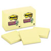 Post-it Notes Super Sticky Super Sticky Notes, 3 x 3, Canary Yellow, 12 90-Sheet Pads/Pack