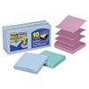 Post-it Pop-up Notes Super Sticky Super Sticky Pop-Up Notes, 3 x 3, Tropic Breeze, 10 90-Sheet Pads/Pack
